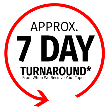 7 day turn around