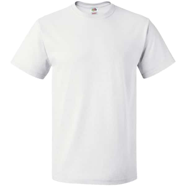 fruit of the loom heavy cotton t shirt white 100 cotton t shirts tshirts the ideal tshirts