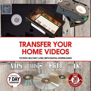 transfer home videos to dvd blu-ray usb